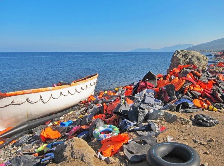 Pobřeží Sýrie.