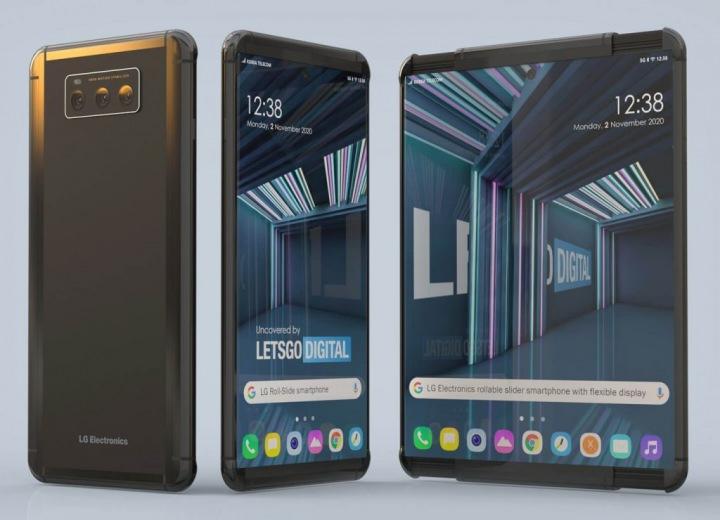 Telefon LG s roztahovacím displejem