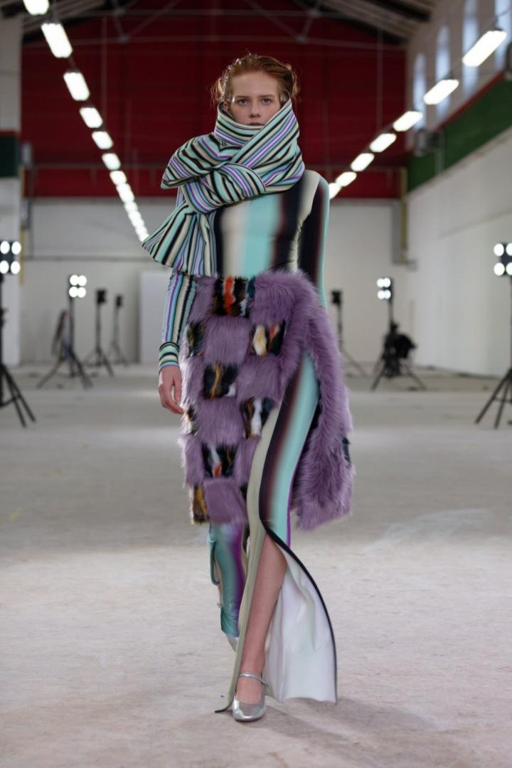 Model od návrhářky Terezy Rosalie Kladošové.
