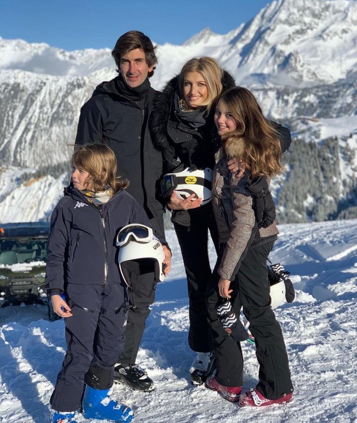 Tereza Maxová s rodinou