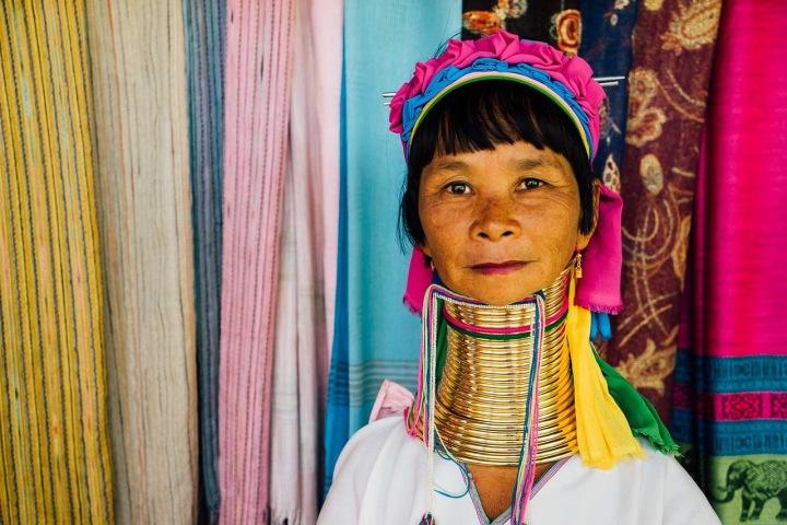 Ideál krásy v Barmě a Thajsku