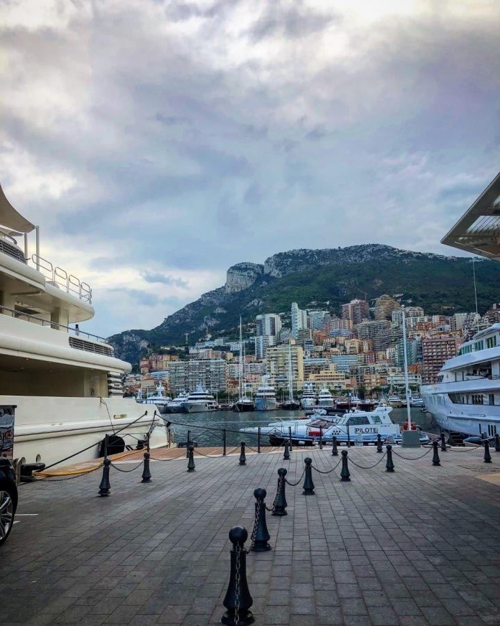 Monako přístav.