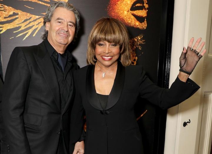 Tina Turner a Erwin Bach