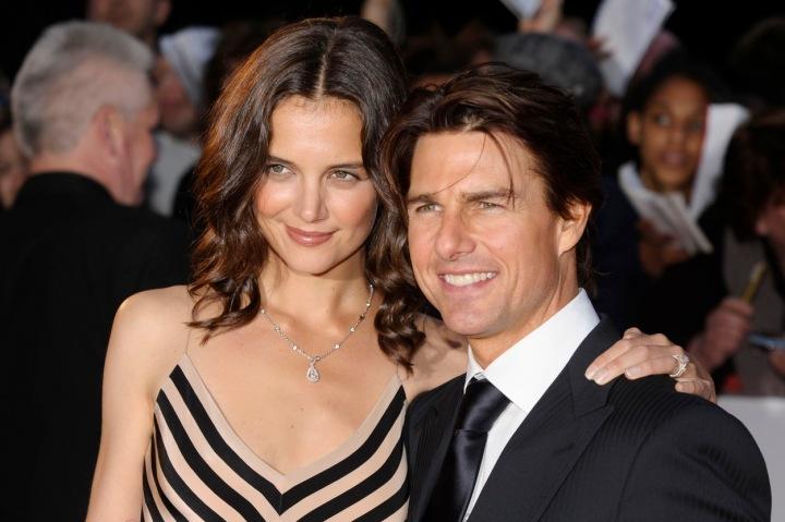 Cruise s bývalou manželkou Katie Holmes.