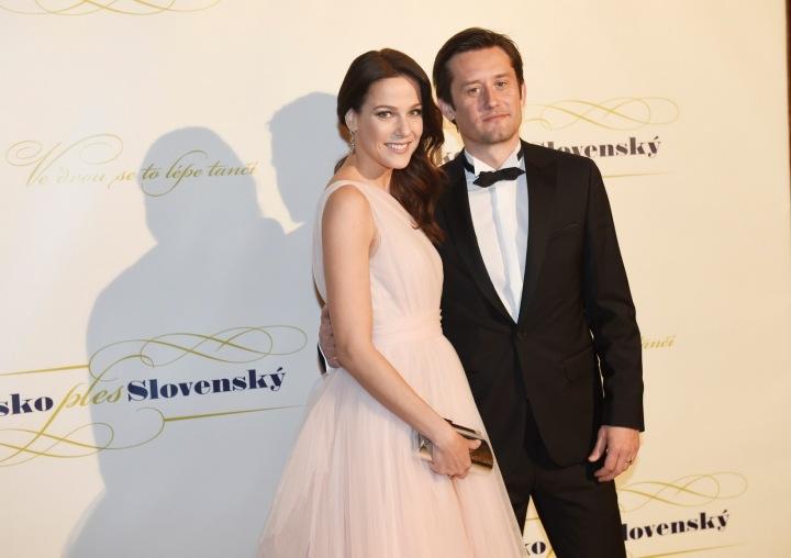 Tomáš Rosický s manželkou Radkou