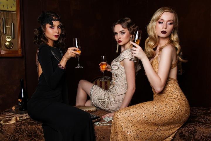 Tři ženy na večírku