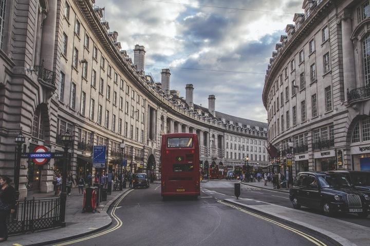 Ulice Londýna.