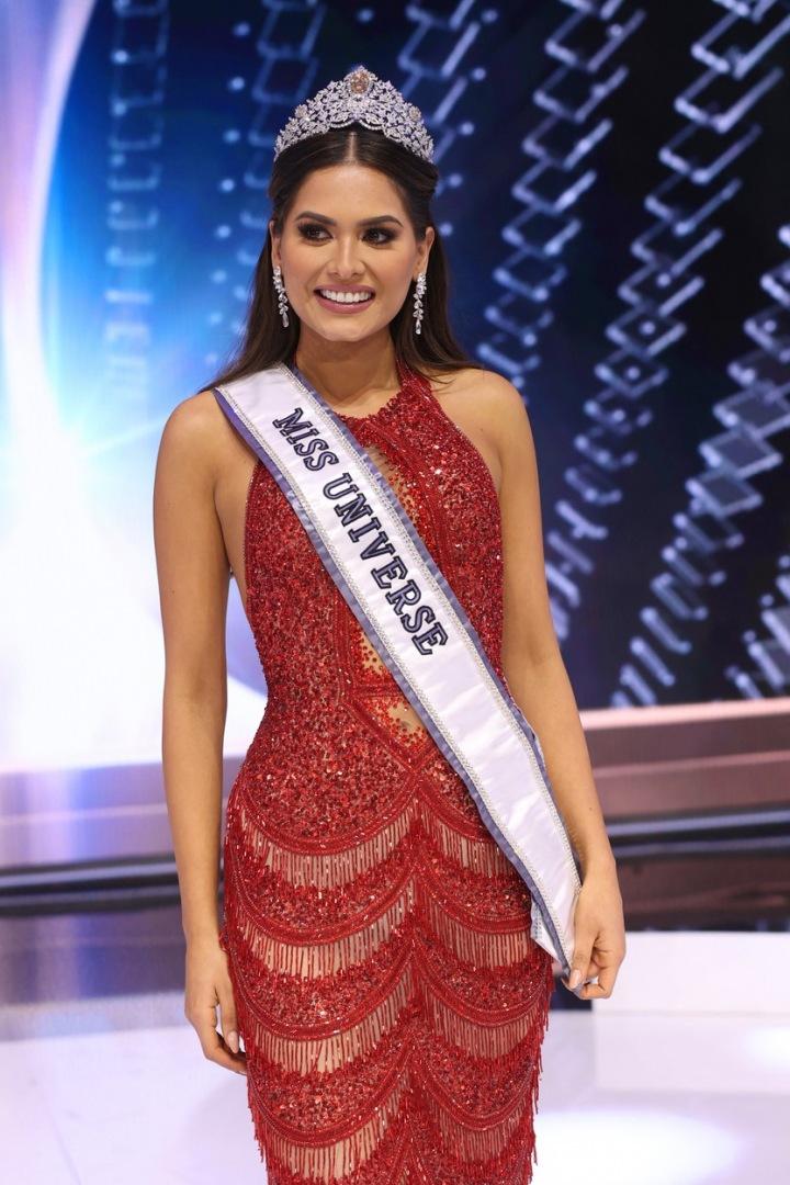 Miss Universe Andrea Meza.