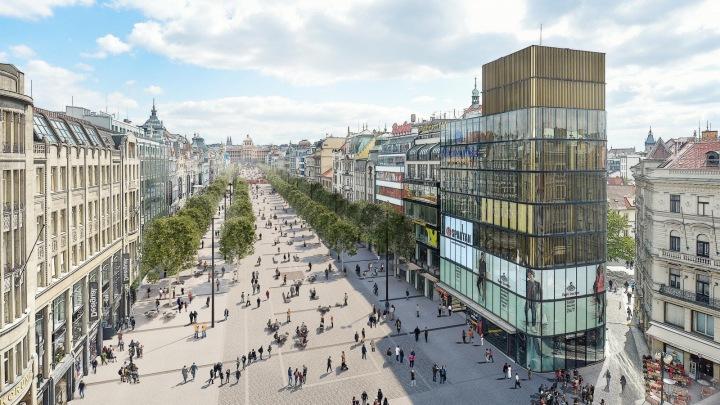 Budoucí podoba Václavského náměstí.