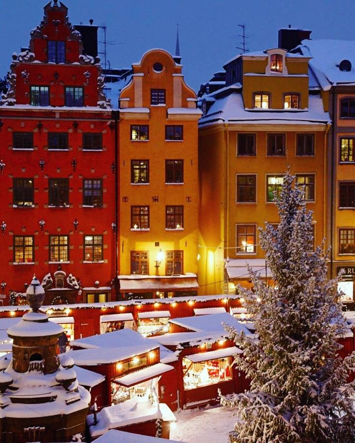 Vánoční trhy na Gamla Stan