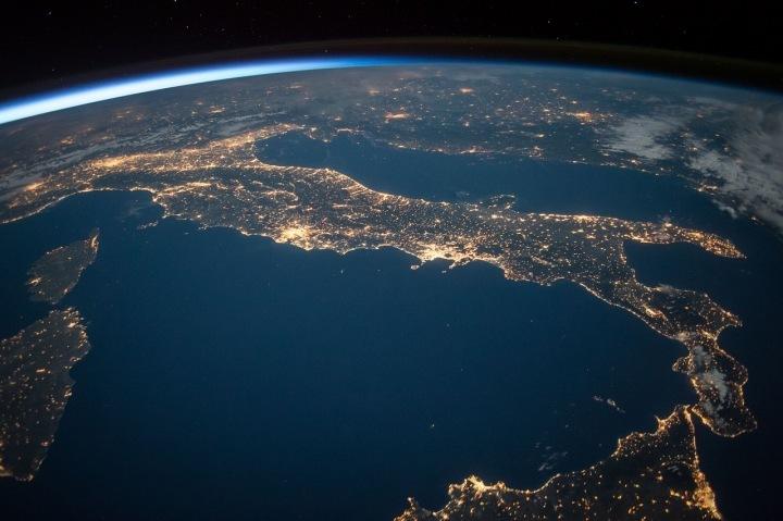 Pohled z Mezinárodní vesmírné stanice