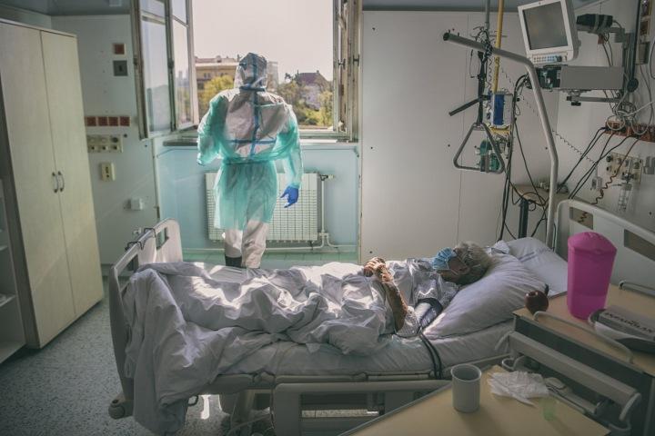 Fotografka zachycuje život pacientů i lékařů.