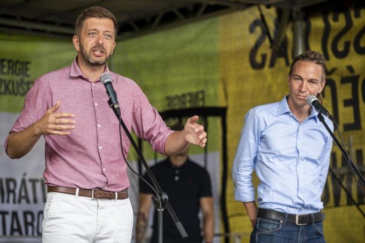 Vít Rakušan a Ivan Bartoš.