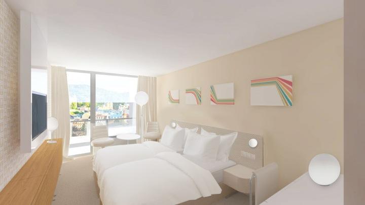 Vizualizace pokojů bez paland.