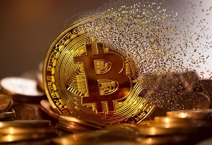 Vizualizace kryptoměny Bitcoin