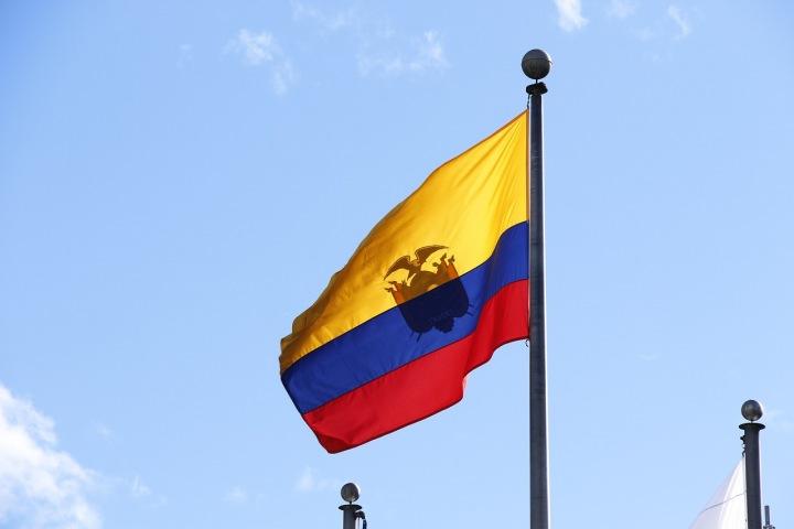 Vlajka státu Ekvádor