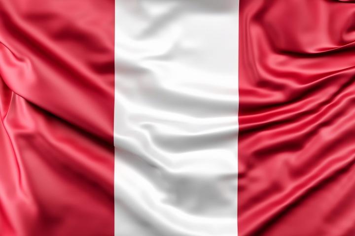 Vlajka jihoamerického státu Peru
