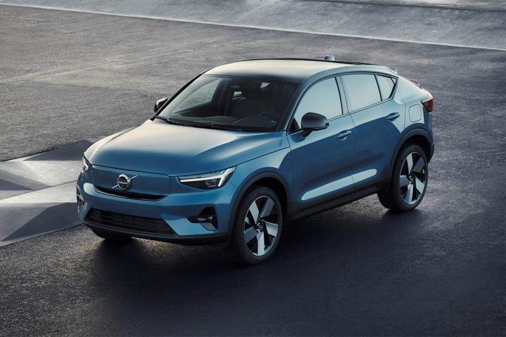 Chystaný elektromobil C40 Recharge od značky Volvo