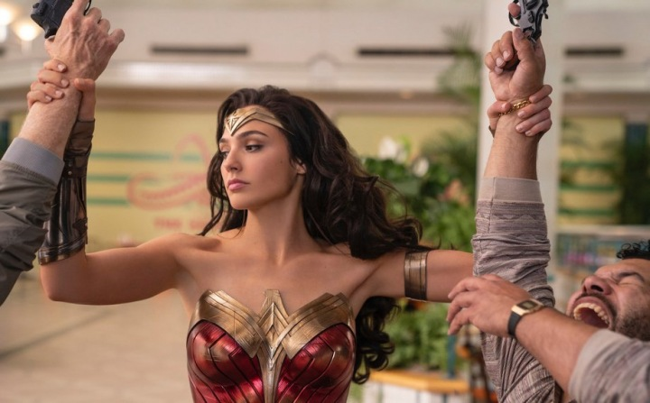 Gal Gadot v roli Wonder Woman