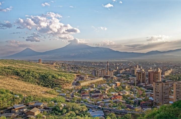 Hlavní město Arménie, Jerevan