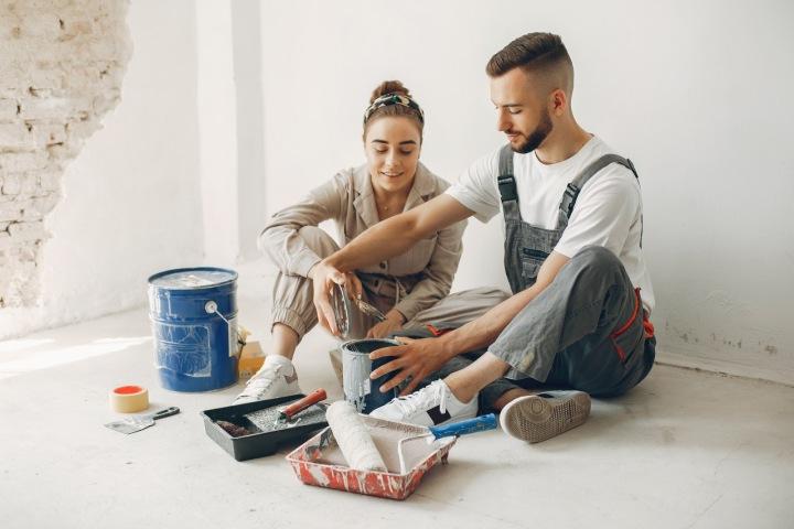 Byty určené k rekonstrukci lákají mnohdy i mladé páry