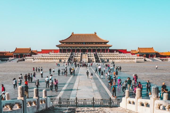 Zakázané město v Pekingu