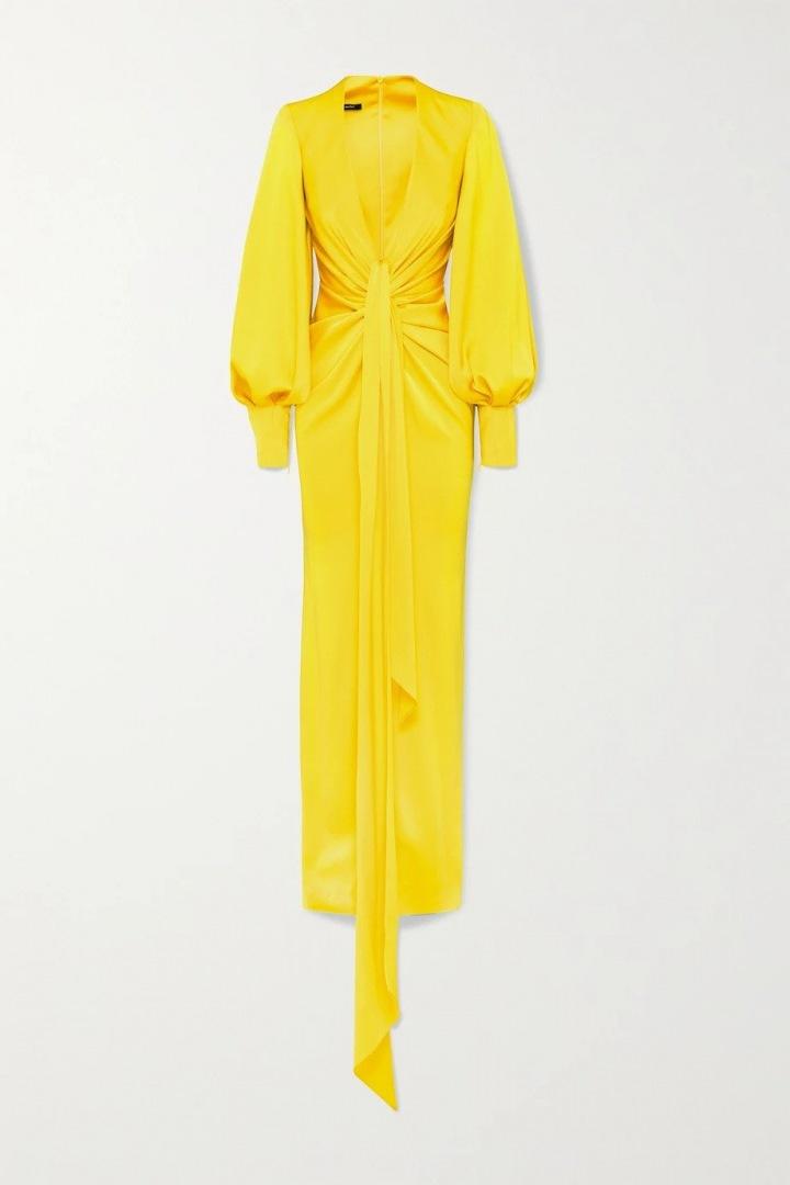 Zářivě žluté šaty Alex Perry