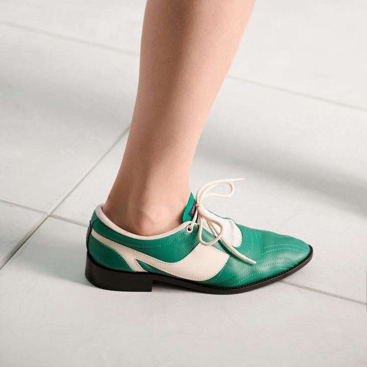 Zelené boty Louis Vuitton