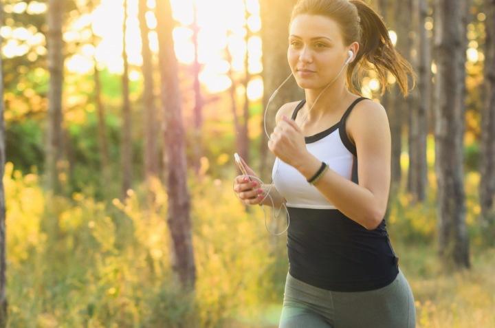 Žena v běhu