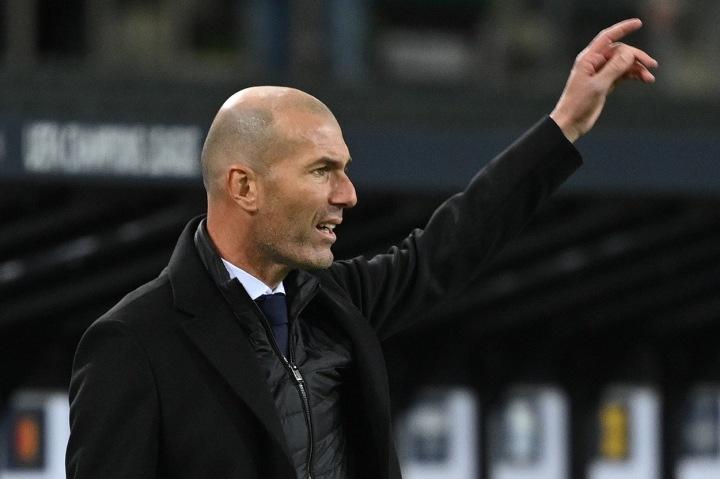 Trenér fotbalistů Realu Madrid Zinédine Zidane