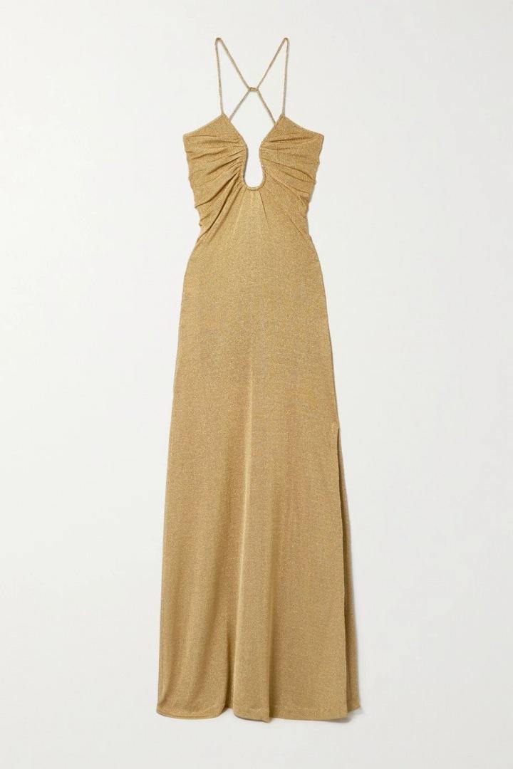 Zlaté šaty Fendi