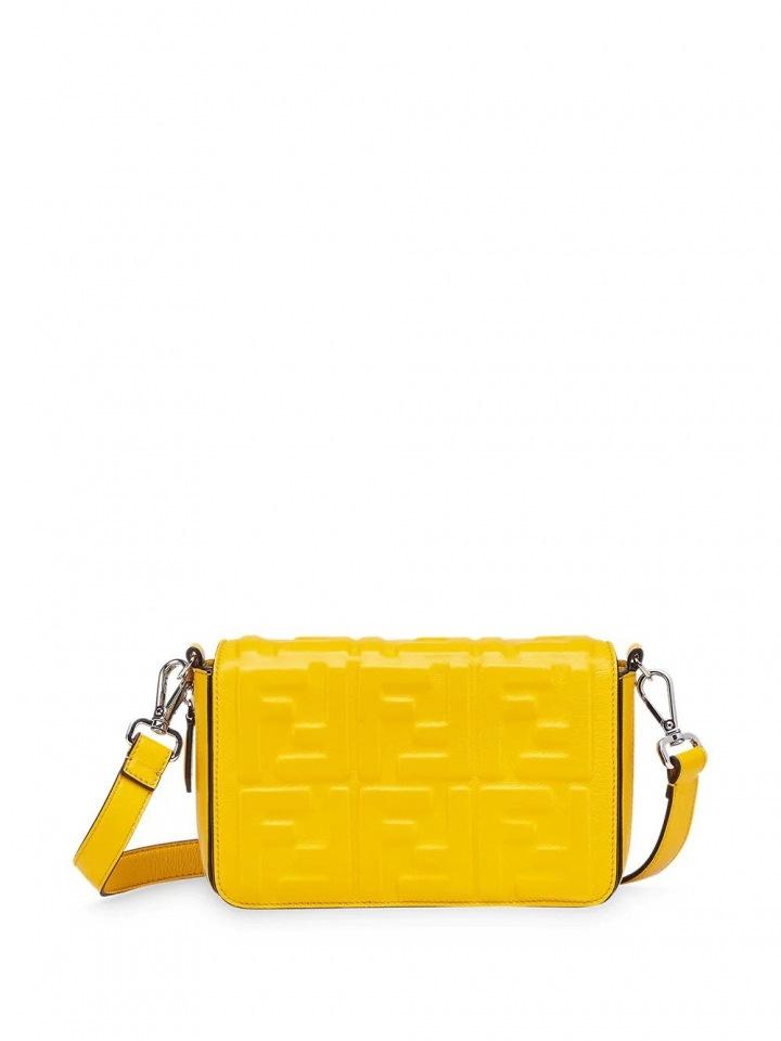 Žlutá taška Fendi