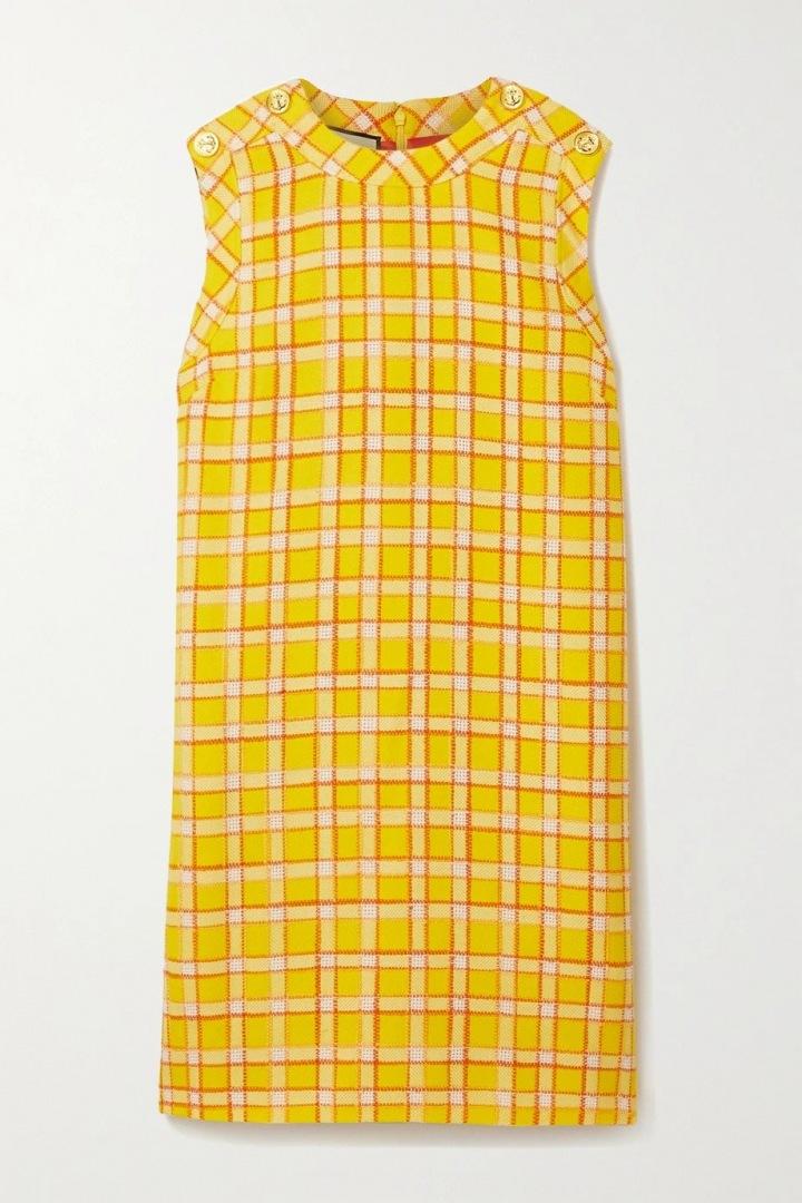 Žluté mini šaty Gucci