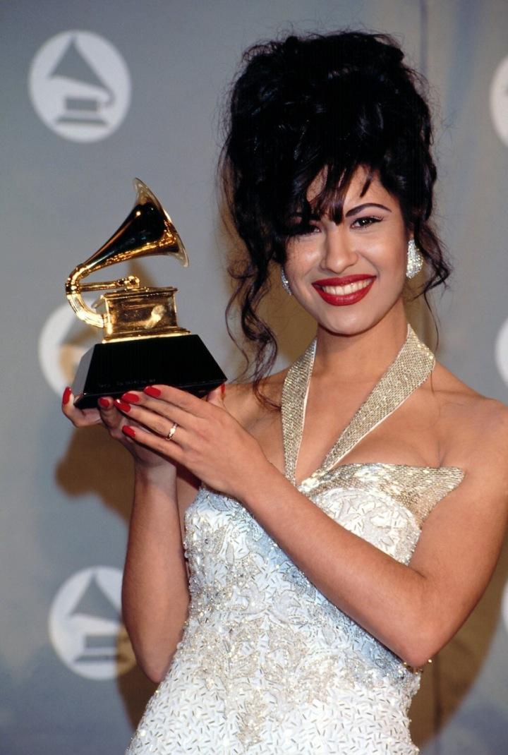 Zpěvačka Selena s cenou