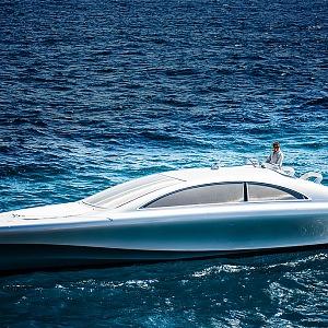 Stříbrný mořský šíp Arrow460-Granturismo