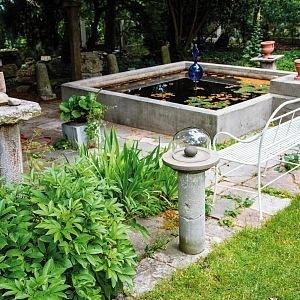 Ottova vila, zahrada