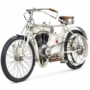 L&K motocykleta Slavia typ CCD (1906)