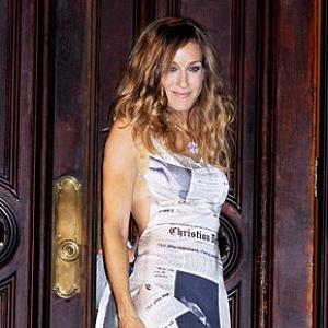 Potištěné šaty od Diora.