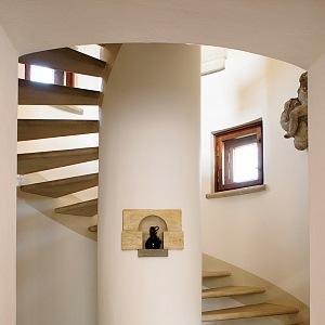 Rothmayerova vila, schodiště