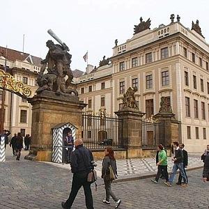 Jižní výběžek Pražského hradu
