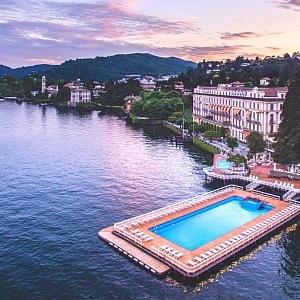 Villa D´este, Jezero Como