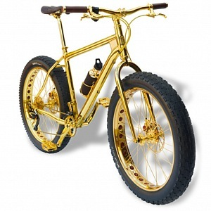 Beverly Hills Edition 24k Gold Extreme Mountain Bike