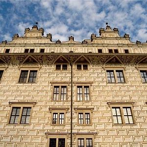 Litomyšl detail zámku