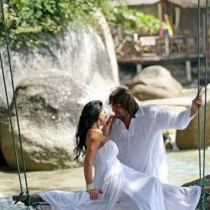 Bývalého manžela si vzala v Thajsku.