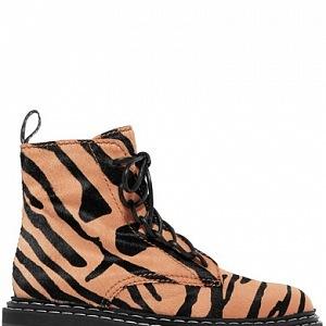Tygrované boty do sněhu