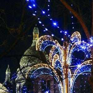 Francie je noblesní, i na Vánoce.