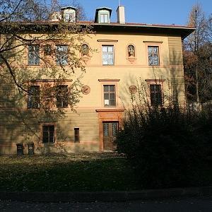 Grébovka dolní Landhauska