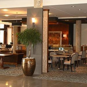 Interiér hotelu Saliris