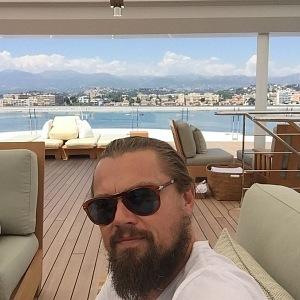 Leonardo DiCaprio na palubě Rosing Sun