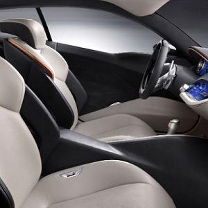 Sedadla v Maserati vozu